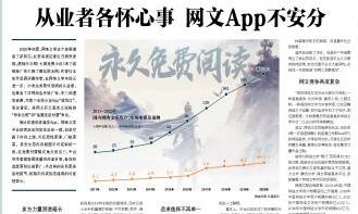 2020.5 北京商报:从业者各怀心事 网文App不安分